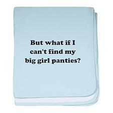 Big Girl Panties Black.png baby blanket