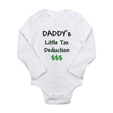 Funny Tax accountant Long Sleeve Infant Bodysuit
