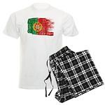 Portugal Flag Men's Light Pajamas