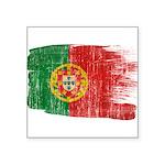 Portugal Flag Square Sticker 3