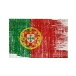 Portugal Flag Rectangle Magnet (100 pack)