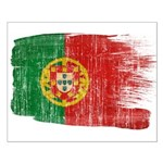 Portugal Flag Small Poster