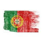 Portugal Flag 38.5 x 24.5 Wall Peel