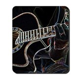 Guitar Player Mousepad