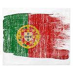 Portugal Flag King Duvet