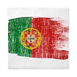 Portugal Flag Queen Duvet