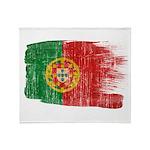 Portugal Flag Throw Blanket