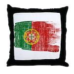 Portugal Flag Throw Pillow