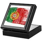 Portugal Flag Keepsake Box