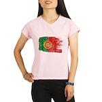 Portugal Flag Performance Dry T-Shirt