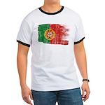 Portugal Flag Ringer T
