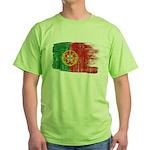 Portugal Flag Green T-Shirt
