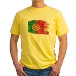 Portugal Flag Yellow T-Shirt