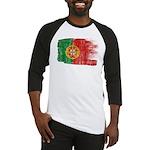 Portugal Flag Baseball Jersey