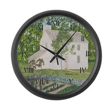 Countrty Garden Large Wall Clock