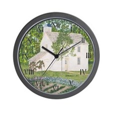 Country Garden Wall Clock