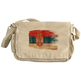 Serbia Flag Messenger Bag