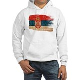 Serbia Flag Jumper Hoody
