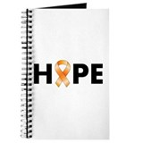 Orange Ribbon Hope Journal