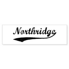 Northridge - Vintage Bumper Bumper Sticker