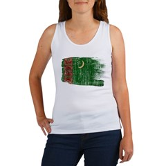 Turkmenistan Flag Women's Tank Top