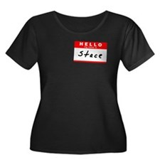 Stace, Name Tag Sticker T