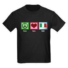 Peace Love Italy T