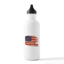 United States Flag Water Bottle