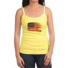 United States Flag Jr.Spaghetti Strap