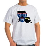 Interstates 10/12/59 Slidell Louisiana  T-Shirt