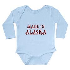Made In Alaska Long Sleeve Infant Bodysuit