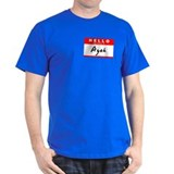 Ayah, Name Tag Sticker T-Shirt