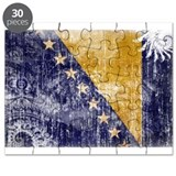 Bosnia and Herzegovina Flag Puzzle