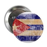 "Cuba Flag 2.25"" Button (100 pack)"