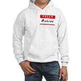 Aubree, Name Tag Sticker Jumper Hoody