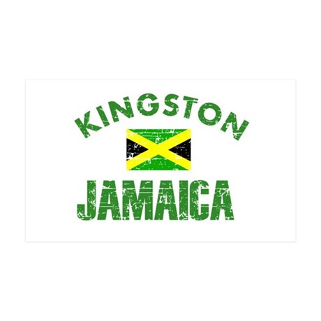 Kingston Jamaica designs 38.5 x 24.5 Wall Peel