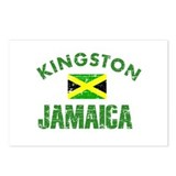 Kingston Jamaica designs Postcards (Package of 8)