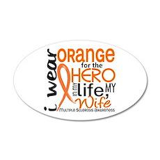 Hero In Life 2 MS 22x14 Oval Wall Peel
