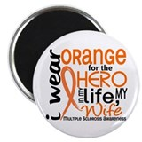 "Hero In Life 2 MS 2.25"" Magnet (100 pack)"