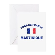 Fort De France Martinique designs Greeting Card