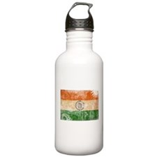 India Flag Water Bottle