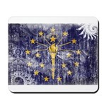 Indiana Flag Mousepad