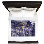 Indiana Flag King Duvet