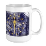 Indiana Flag Large Mug