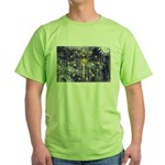 Indiana Flag Green T-Shirt