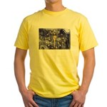 Indiana Flag Yellow T-Shirt