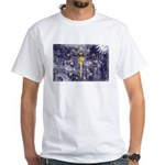 Indiana Flag White T-Shirt