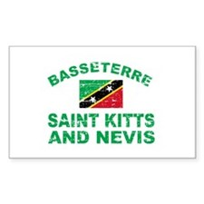 Basseterre Saint Kitts and Nevis designs Decal