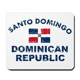 Santo Domingo Dominican Republic designs Mousepad