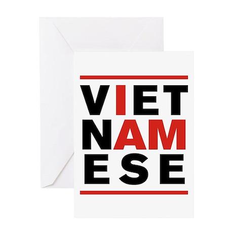 I AM VIETNAMESE Greeting Card